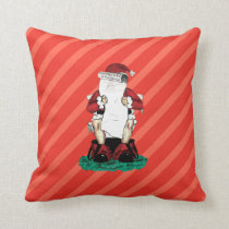 Funny Santa Pillow