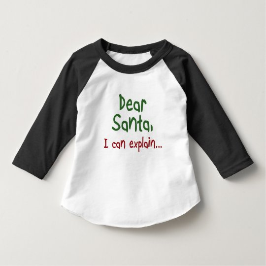e6fe93a4219c4 Funny Santa quote Toddler Christmas kids clothing T-Shirt