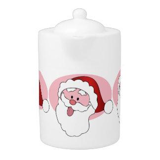 Funny Santa teapot