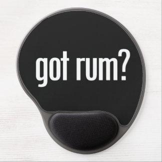 Funny Sarcastic Got Rum Gel Mousepad