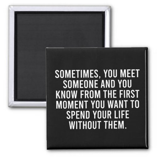 Funny Sarcastic Introvert Humor Saying Magnet