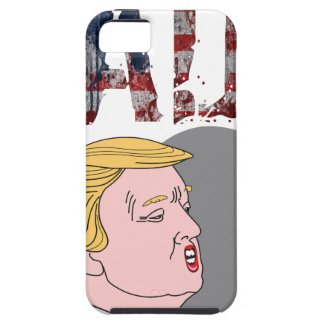 Funny sarcastic sad anti President Donald Trump iPhone SE/5/5s Case