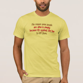 Funny Sarcastic Saying on People T-Shirt