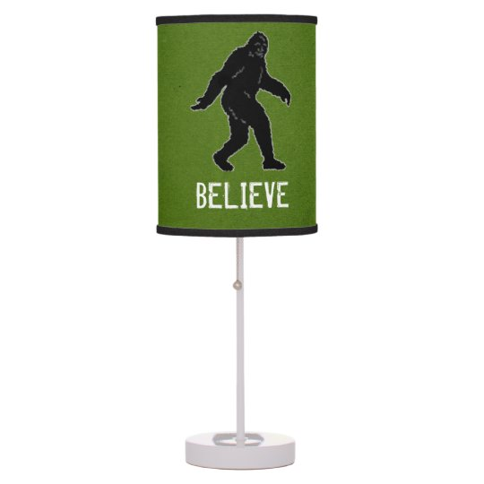Funny Lamp funny sasquatch believe accent lamp | zazzle
