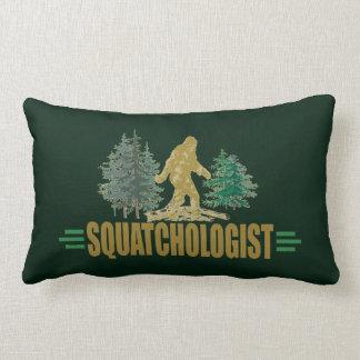 Funny Sasquatch | Big Foot | Believe! | Hunt Lumbar Pillow