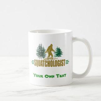 Funny Sasquatch BigFoot Classic White Coffee Mug