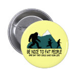Funny Sasquatch Buttons