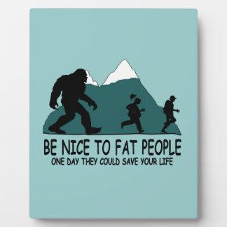 Funny Sasquatch Plaque