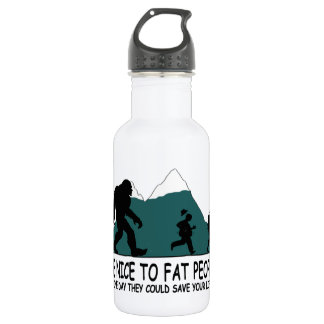 Funny Sasquatch Water Bottle
