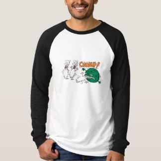 funny savage bowling ball bowling humor T-Shirt
