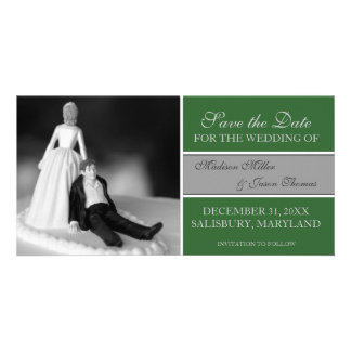 Funny Save the Date Announcements {Green}