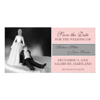 Funny Save the Date Announcements {Pink}