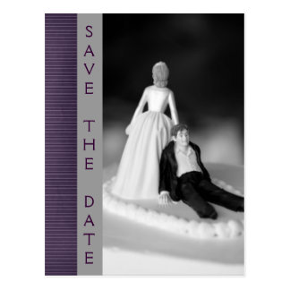 Funny Save The Date Announcements Postcards