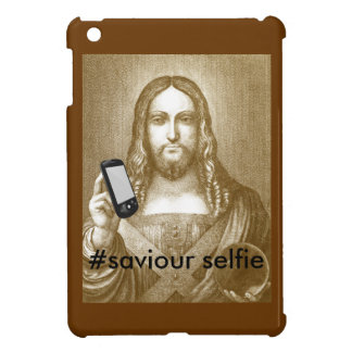 Funny Save Yourself Parody Saviour Selfie iPad Mini Cases