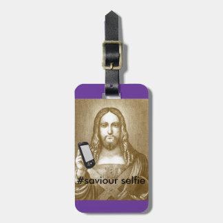 Funny Save Yourself Parody Saviour Selfie Luggage Tags