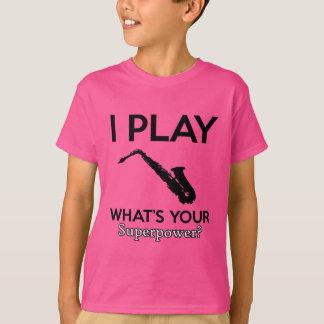 funny saxophone designs T-Shirt