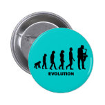 funny saxophone player 2 inch round button