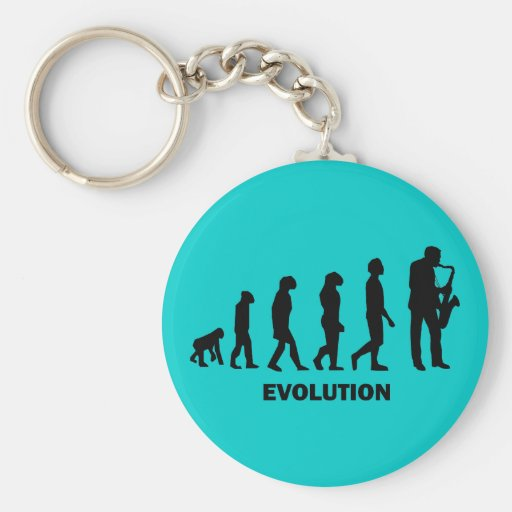 funny saxophone player key chains