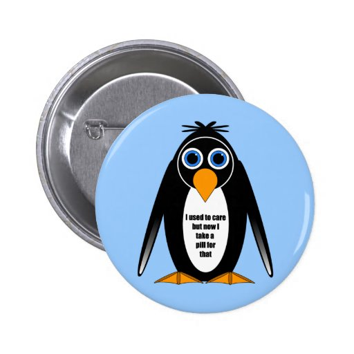 funny saying 2 inch round button