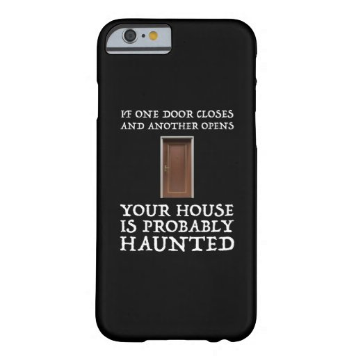 Funny Saying Ghost Hunter Barely There iPhone 6 Case