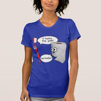 Funny Saying - I hate my job toothbrush Tshirts