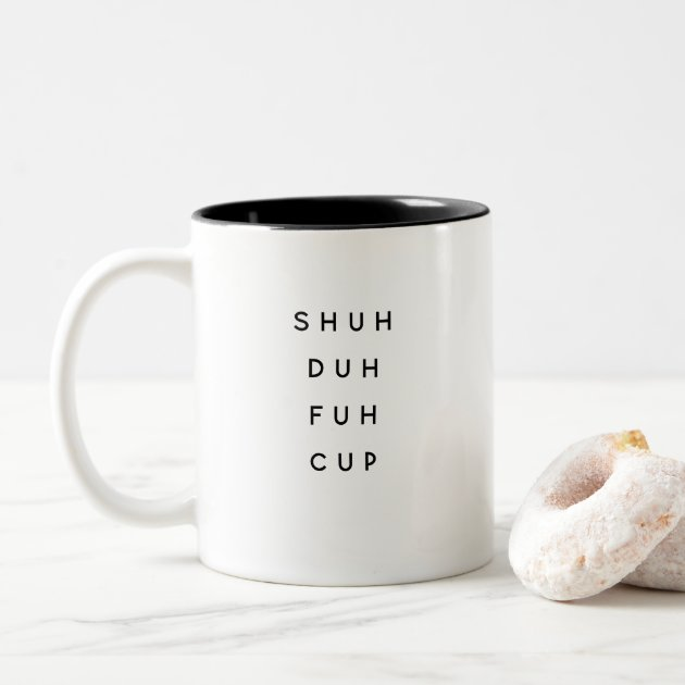 Funny Saying Modern Coworker Birthday Quote Two Tone Coffee Mug Zazzle Com