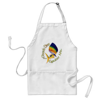 Funny Sayings Collection by FishTs Adult Apron