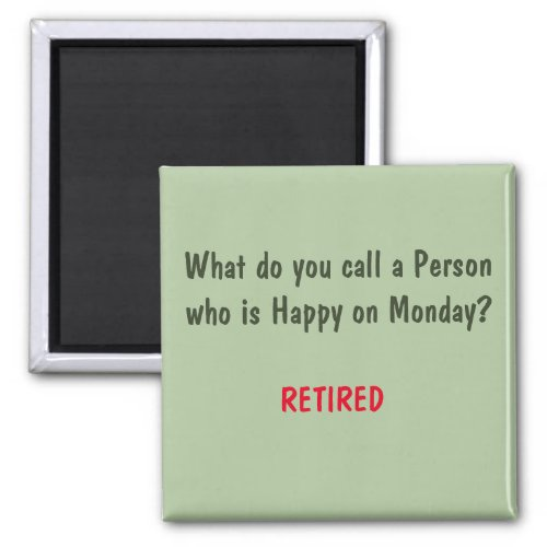 Funny Sayings Square Magnet 3