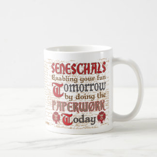 Funny SCA Seneschal Paperwork Coffee Mug