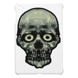 Funny Scared Skull Artwork iPad Mini Case