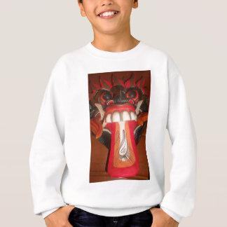 Funny Scary Weird Tongue  Asian Halloween Amazing  Sweatshirt
