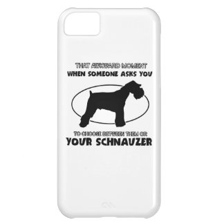 funny schnauzer Design Cover For iPhone 5C