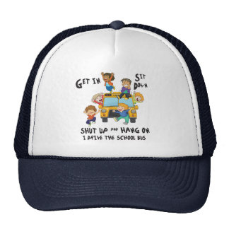 Funny School Bus Driver Back to School Trucker Hat