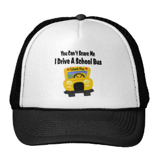Funny School Bus Driver Trucker Hat