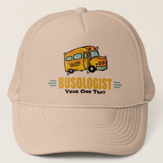 Funny School Bus Trucker Hat