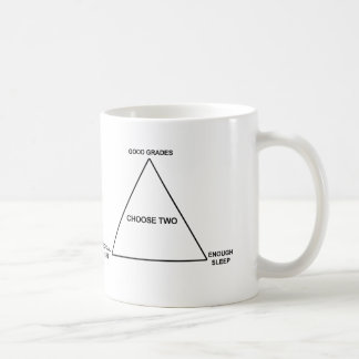 Funny School Design Choose Two Coffee Mug