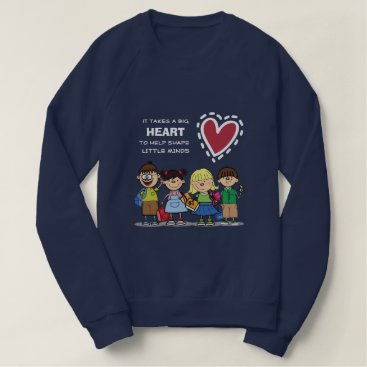 Beach Themed Funny School Kids design  Sweatshirts for Teachers