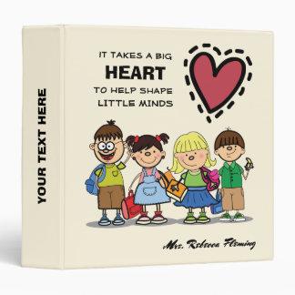 Funny School Kids Teacher Appreciation Gift Binder