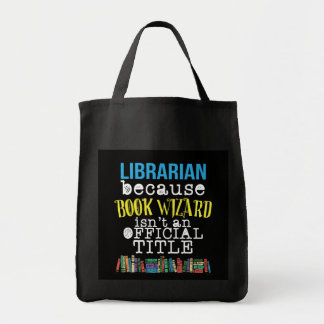 Funny School Librarian Gifts Tote Bag