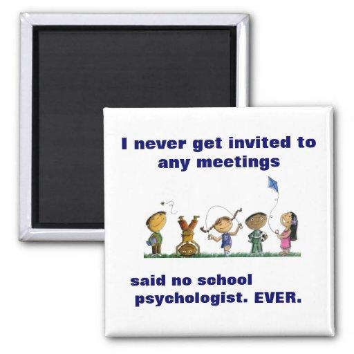 Funny School Psychologist Magnet