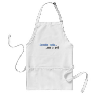 Funny science research products adult apron