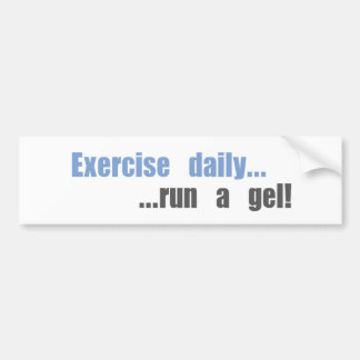 Funny science research products bumper sticker
