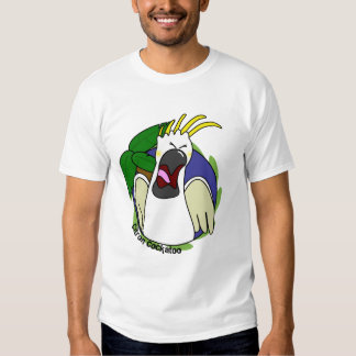 Funny Screaming Citron Cockatoo Tee Shirts