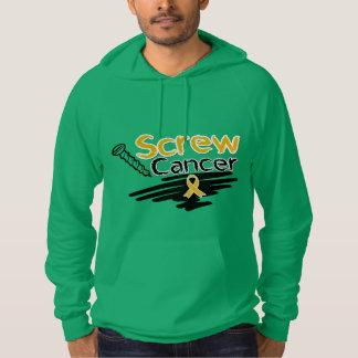 Funny Screw Appendix Cancer Sweatshirt