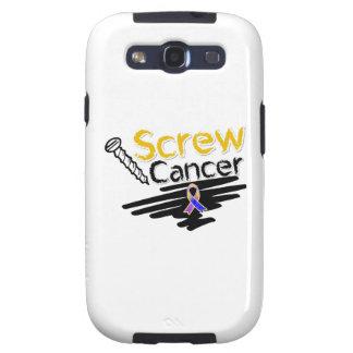 Funny Screw Bladder Cancer Samsung Galaxy SIII Case