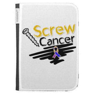 Funny Screw Bladder Cancer Cases For Kindle