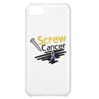 Funny Screw Bladder Cancer Cover For iPhone 5C