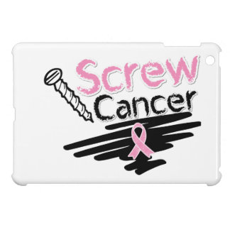 Funny Screw Breast Cancer Cover For The iPad Mini