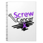 Funny Screw GIST Cancer Note Book