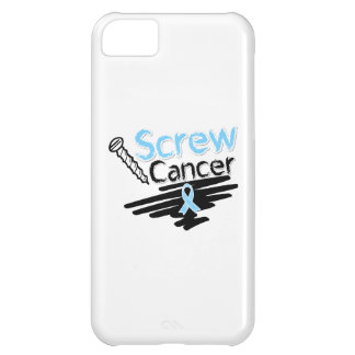 Funny Screw Prostate Cancer Cover For iPhone 5C